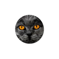 Cat Eyes Background Image Hypnosis Golf Ball Marker (10 pack)