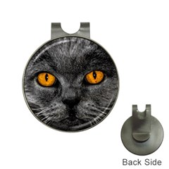 Cat Eyes Background Image Hypnosis Hat Clips With Golf Markers