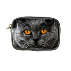 Cat Eyes Background Image Hypnosis Coin Purse