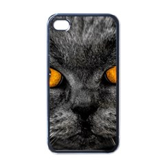 Cat Eyes Background Image Hypnosis Apple Iphone 4 Case (black)