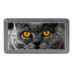 Cat Eyes Background Image Hypnosis Memory Card Reader (mini)