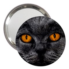 Cat Eyes Background Image Hypnosis 3  Handbag Mirrors