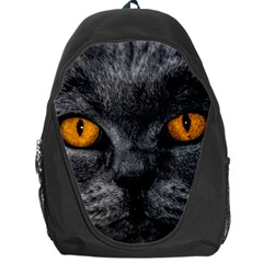 Cat Eyes Background Image Hypnosis Backpack Bag