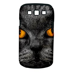 Cat Eyes Background Image Hypnosis Samsung Galaxy S Iii Classic Hardshell Case (pc+silicone)