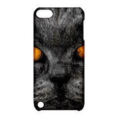 Cat Eyes Background Image Hypnosis Apple iPod Touch 5 Hardshell Case with Stand