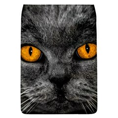Cat Eyes Background Image Hypnosis Flap Covers (L)