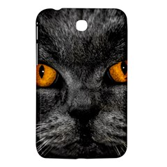 Cat Eyes Background Image Hypnosis Samsung Galaxy Tab 3 (7 ) P3200 Hardshell Case