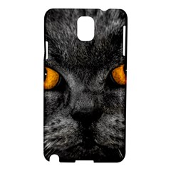 Cat Eyes Background Image Hypnosis Samsung Galaxy Note 3 N9005 Hardshell Case
