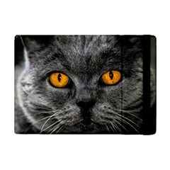 Cat Eyes Background Image Hypnosis iPad Mini 2 Flip Cases