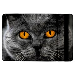 Cat Eyes Background Image Hypnosis iPad Air Flip