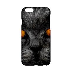 Cat Eyes Background Image Hypnosis Apple iPhone 6/6S Hardshell Case