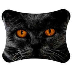 Cat Eyes Background Image Hypnosis Jigsaw Puzzle Photo Stand (bow)