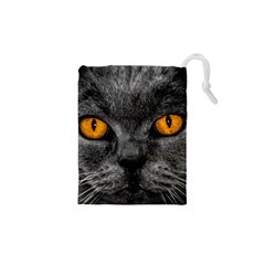 Cat Eyes Background Image Hypnosis Drawstring Pouches (xs)
