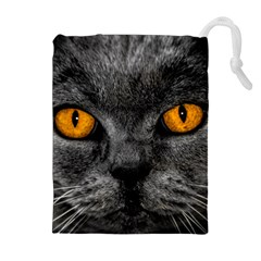Cat Eyes Background Image Hypnosis Drawstring Pouches (extra Large)