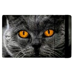Cat Eyes Background Image Hypnosis Apple Ipad Pro 9 7   Flip Case