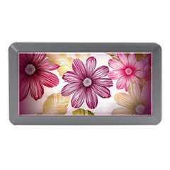 Flower Print Fabric Pattern Texture Memory Card Reader (mini)