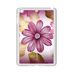 Flower Print Fabric Pattern Texture iPad Mini 2 Enamel Coated Cases