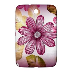 Flower Print Fabric Pattern Texture Samsung Galaxy Note 8 0 N5100 Hardshell Case