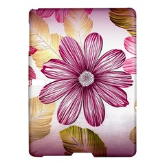 Flower Print Fabric Pattern Texture Samsung Galaxy Tab S (10.5 ) Hardshell Case