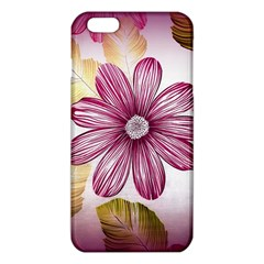 Flower Print Fabric Pattern Texture iPhone 6 Plus/6S Plus TPU Case