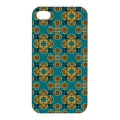 Vintage Pattern Unique Elegant Apple iPhone 4/4S Premium Hardshell Case