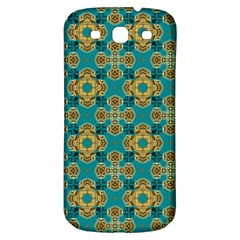 Vintage Pattern Unique Elegant Samsung Galaxy S3 S III Classic Hardshell Back Case