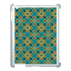 Vintage Pattern Unique Elegant Apple Ipad 3/4 Case (white)