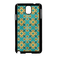 Vintage Pattern Unique Elegant Samsung Galaxy Note 3 Neo Hardshell Case (Black)