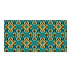 Vintage Pattern Unique Elegant Satin Wrap