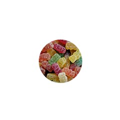 Jelly Beans Candy Sour Sweet 1  Mini Buttons