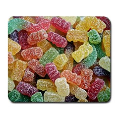 Jelly Beans Candy Sour Sweet Large Mousepads