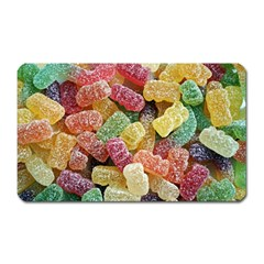 Jelly Beans Candy Sour Sweet Magnet (Rectangular)