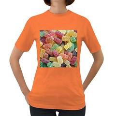 Jelly Beans Candy Sour Sweet Women s Dark T-Shirt