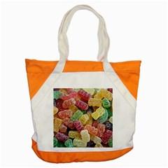 Jelly Beans Candy Sour Sweet Accent Tote Bag