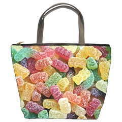Jelly Beans Candy Sour Sweet Bucket Bags