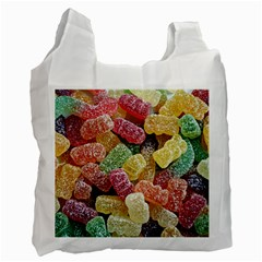 Jelly Beans Candy Sour Sweet Recycle Bag (One Side)