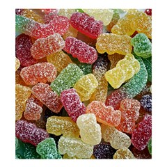 Jelly Beans Candy Sour Sweet Shower Curtain 66  X 72  (large)