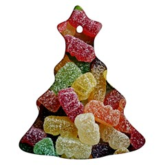 Jelly Beans Candy Sour Sweet Christmas Tree Ornament (two Sides)