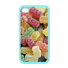 Jelly Beans Candy Sour Sweet Apple iPhone 4 Case (Color)