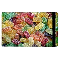 Jelly Beans Candy Sour Sweet Apple Ipad 2 Flip Case