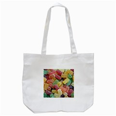 Jelly Beans Candy Sour Sweet Tote Bag (white)