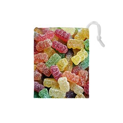 Jelly Beans Candy Sour Sweet Drawstring Pouches (Small)