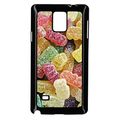 Jelly Beans Candy Sour Sweet Samsung Galaxy Note 4 Case (Black)
