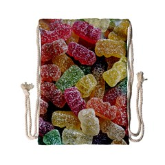 Jelly Beans Candy Sour Sweet Drawstring Bag (Small)