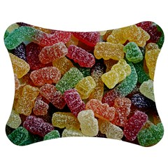 Jelly Beans Candy Sour Sweet Jigsaw Puzzle Photo Stand (Bow)