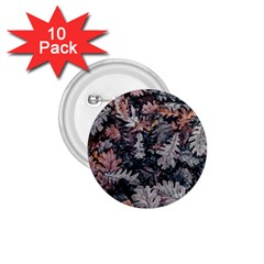 Leaf Leaves Autumn Fall Brown 1.75  Buttons (10 pack)