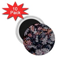 Leaf Leaves Autumn Fall Brown 1.75  Magnets (10 pack)