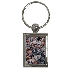 Leaf Leaves Autumn Fall Brown Key Chains (Rectangle)