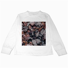 Leaf Leaves Autumn Fall Brown Kids Long Sleeve T-Shirts