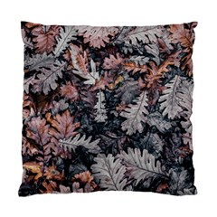 Leaf Leaves Autumn Fall Brown Standard Cushion Case (one Side)